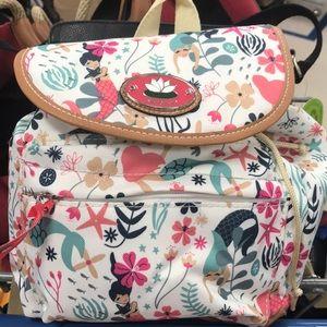 Lily Bloom Sea Garden Mini Backpack- Mermaid